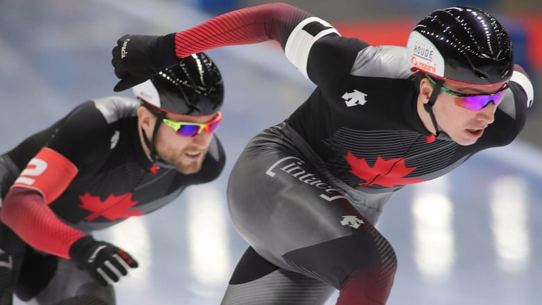 Canada claims bronze in men's team sprint at speed skating World Cup