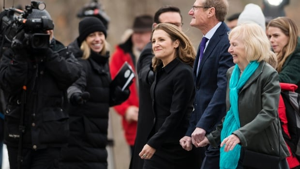 Chrystia Freeland is now the minister for almost everything   CBC News
