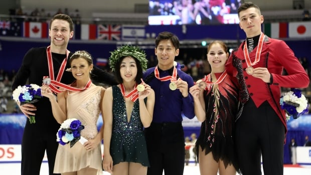 Canada's Moore-Towers, Marinaro off to Grand Prix Final after winning silver in Japan