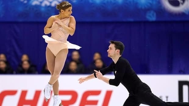 Silver medal skate sends Moore-Towers, Marinaro to Grand Prix Final