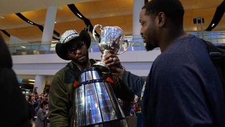 Broken Grey Cup Winnipeg