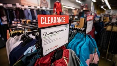 MEC clearance racks