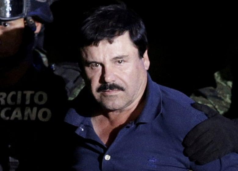 Coronel Aispuro is accused of helping her husband, Mexican drug kingpin Joaquin (El Chapo) Guzman, escape from prison in 2015.(Henry Romero/Reuters)