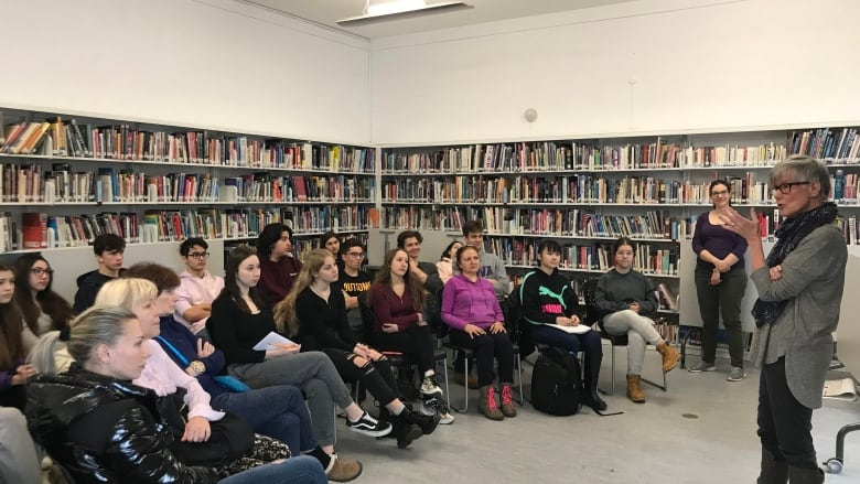 Royal West students tackle grief, end-of-life in workshop on death