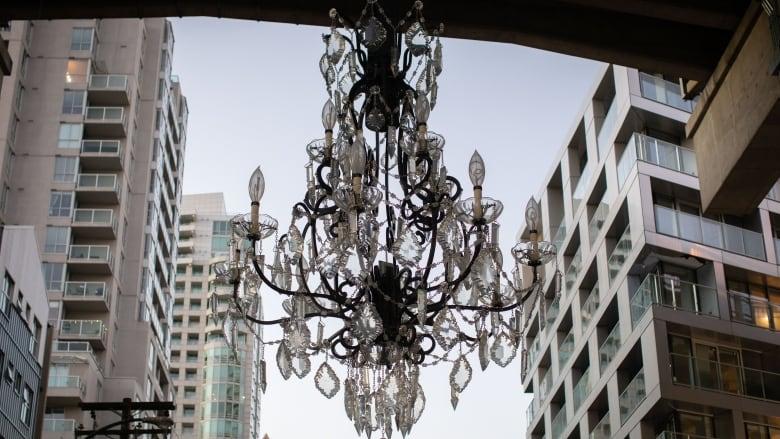 A $4.8M chandelier under Vancouver's Granville Bridge draws divided response