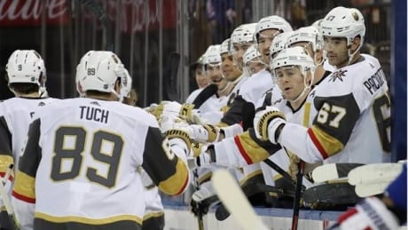 Game Wrap: Golden Knights beat Rangers for 3rd straight win