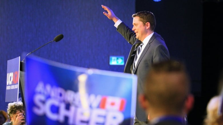 Andrew Scheer's personal numbers suggest he was part of the problem in October