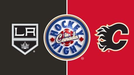 HNIC - Los Angeles Kings at Calgary Flames