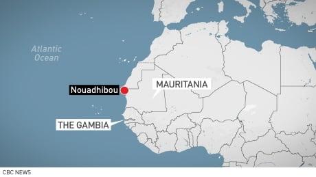 map Mauritania