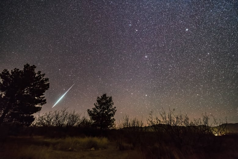 heads up  ... star showers are coming...  Bright-geminid-meteor-descending