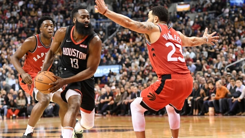 Grades from the Toronto Raptors disappointing loss to the Houston Rockets