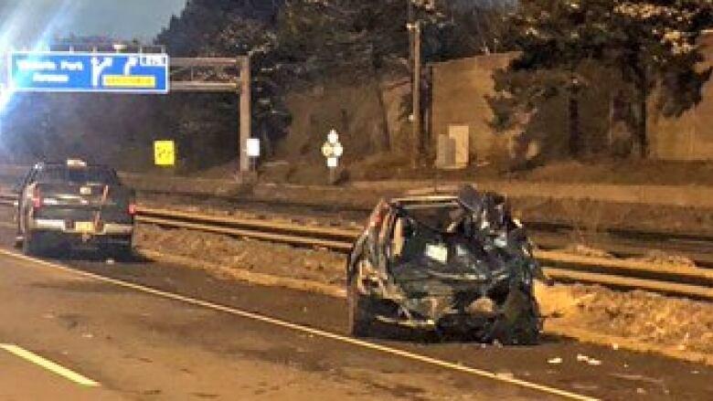 5 injured in Highway 401 crash in Scarborough