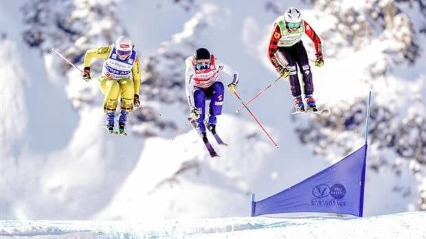 Courtney Hoffos hustles to ski cross bronze in France