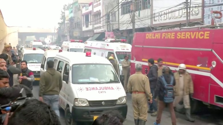Devastating fire kills at least 43 in Indian capital