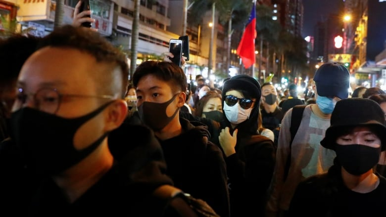 Hong Kong pro-democracy rally marks 6 months of protests