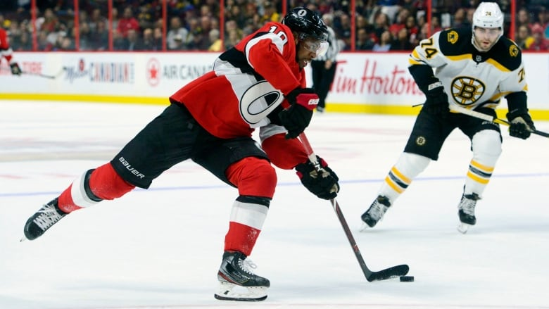 Anthony Duclair, Senators defeated Bruins 5-2 - Ottawa