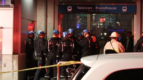 yaletown skytrain incident