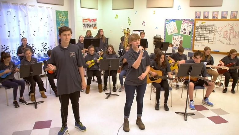 P.E.I. school among top 10 finalists in national music contest