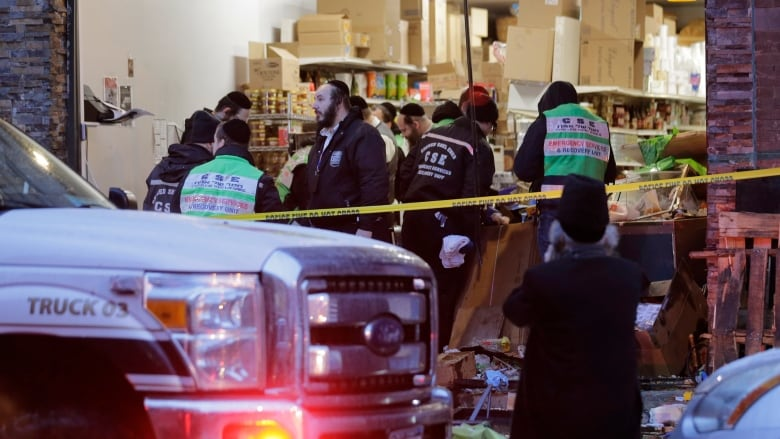 Kosher grocery store targeted in New Jersey shooting that killed 6