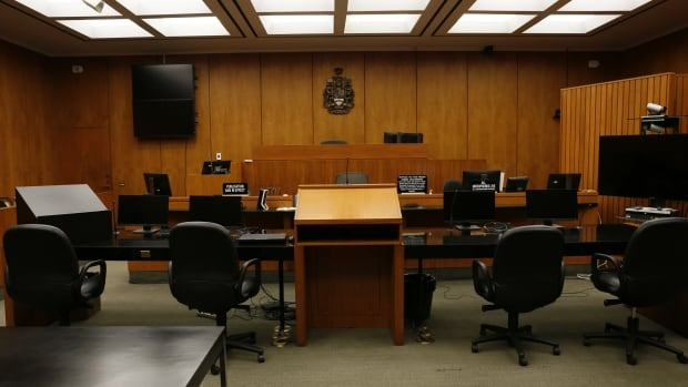 With new technology and protective shields, Alberta courtrooms are slowly reopening