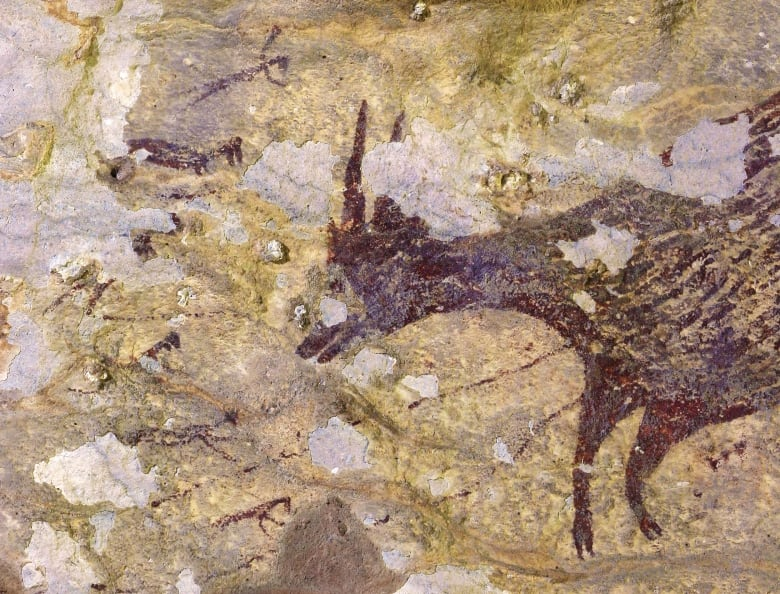 This ancient cave art is the oldest known 'storytelling'