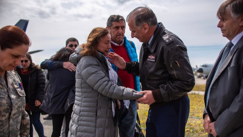 Human remains from Chilean military plane found floating in water