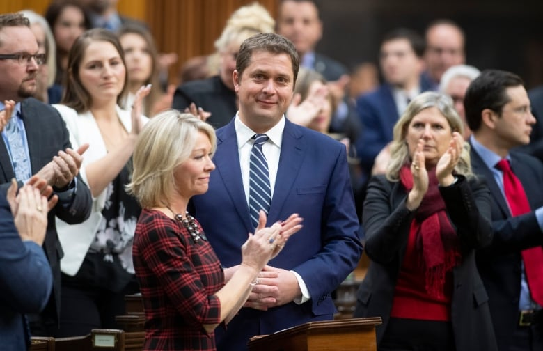 Andrew Scheer stepping down as Conservative Party leader
