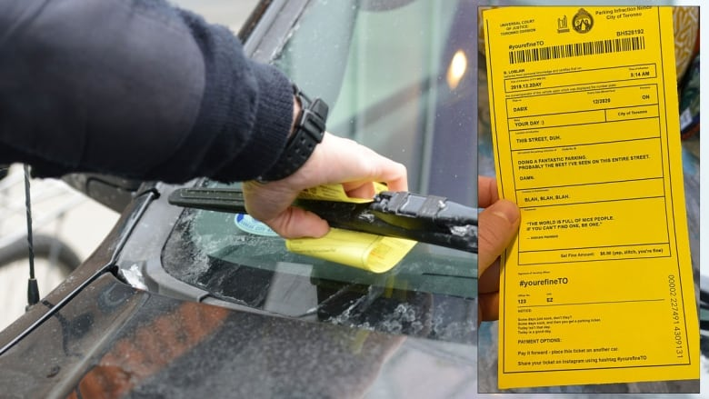 Pranksters hand out hundreds of fake tickets for 'doing a fantastic parking'