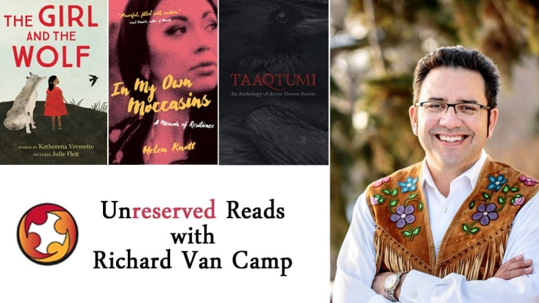 Curl up with 3 Indigenous book recommendations from author Richard Van Camp