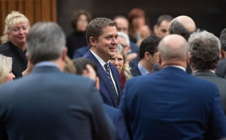 Opposition Conservatives gather to set strategy for Parliament's return