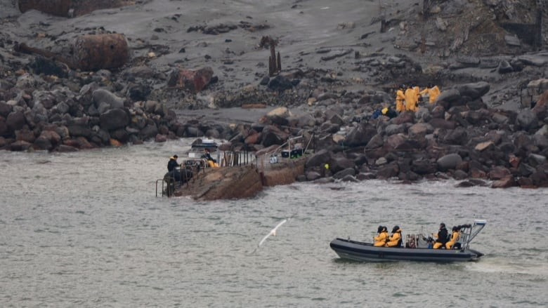 New Zealand police recover 6 bodies, 2 still unaccounted for on volcanic island