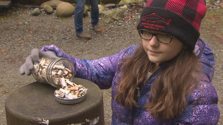 12-year-old petitioning for Canadian ban on plastic cigarette butts