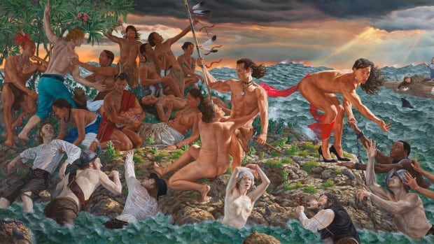 The Met acquires two large-scale paintings by Canadian Cree artist Kent Monkman | CBC News
