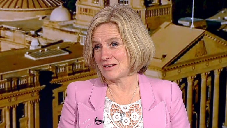 Notley plans to run again for premier but is coy on topic of federal Liberal entreaties