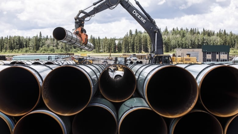 Opposition to Trans Mountain pipeline expansion spikes 11 percentage points, survey suggests
