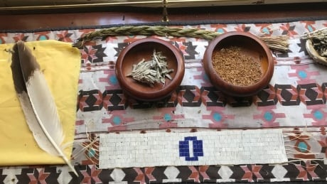 Some of the traditional medicines provided at Atlohsa's Resting Space