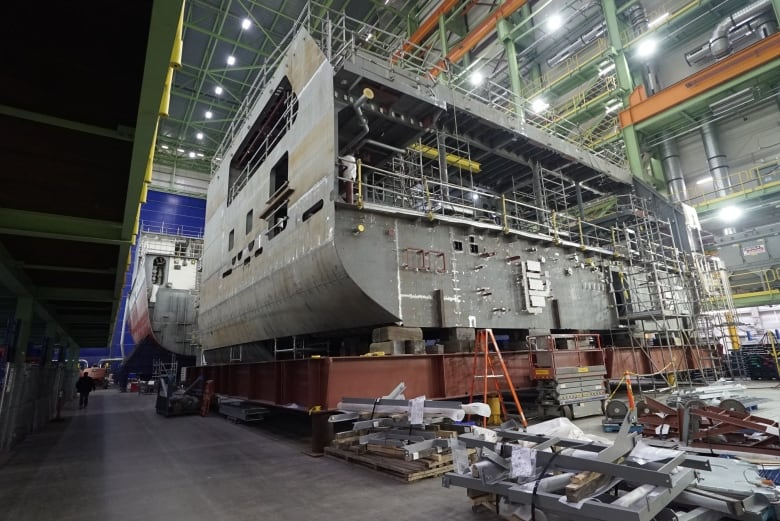 Canada's new Arctic patrol ships could be tasked with hurricane relief