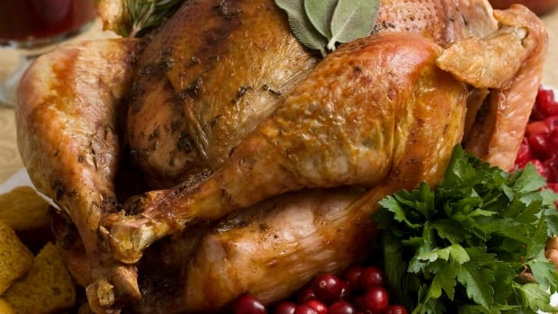 Food scientists say don't wash the turkey. Here's why. | CBC News thumbnail