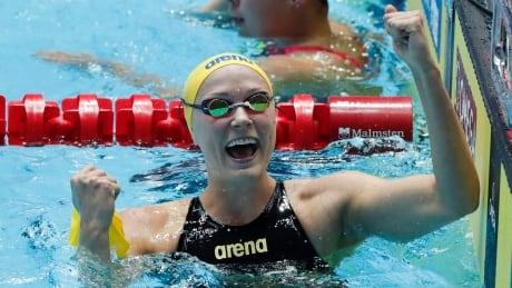 Swimming League Debut