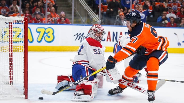 Mcdavid Draisaitl Power Oilers Past Habs Cbc Sports