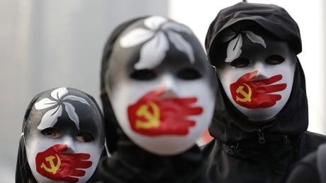 Hong Kong Protest Uighur