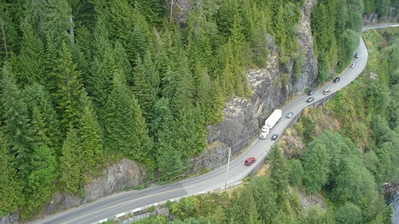 B C Mayor Calling For Internet Access On Stretch Of Vancouver Island Highway Cbc News