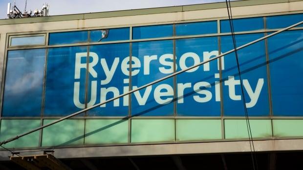 ryerson university signs toronto.