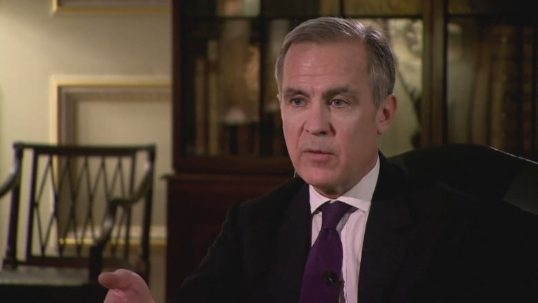 Former Bank of Canada governor Mark Carney urges financial sector to act against climate change