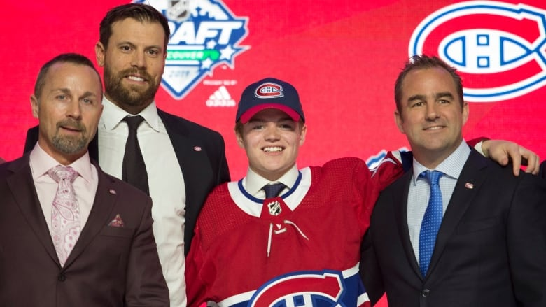 'I just love it more': Habs prospect Cole Caufield on his goal-scoring acumen