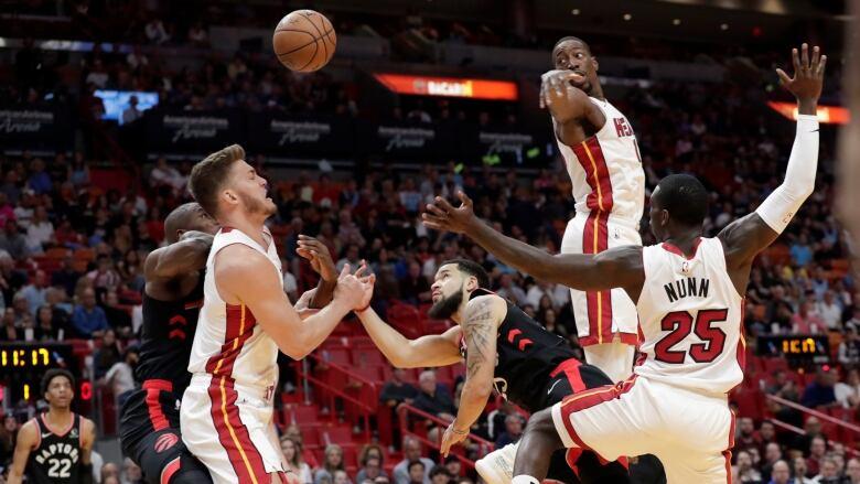 Herro helps Heat surge past Raptors