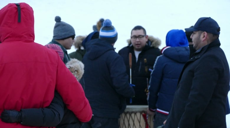 kelly fraser drumming - 'She was fierce': Family, friends and fans honour Kelly Fraser at Inuk musician's vigil