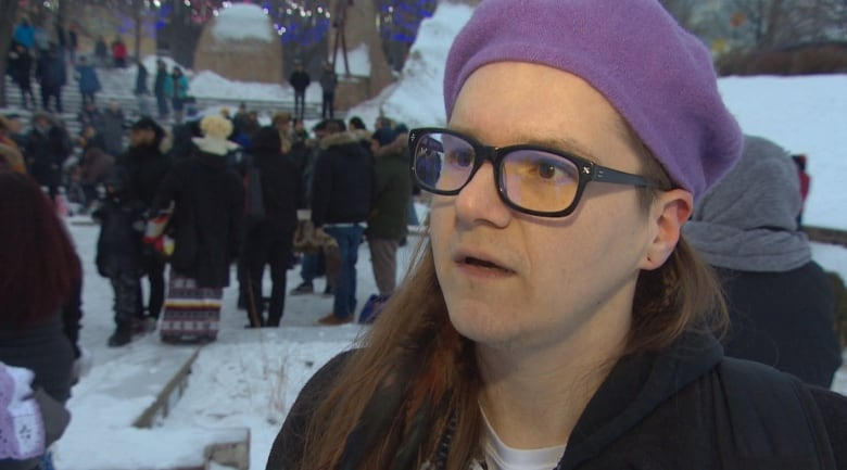 river steele - 'She was fierce': Family, friends and fans honour Kelly Fraser at Inuk musician's vigil