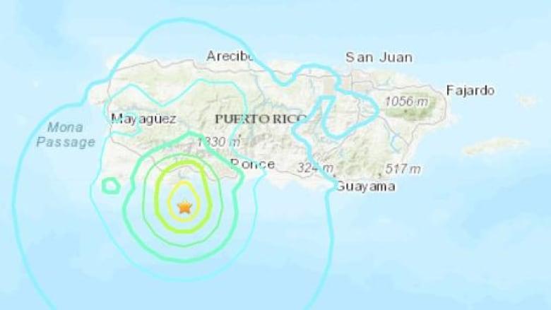 Puerto Rico struck by 5.8-magnitude quake | CBC News