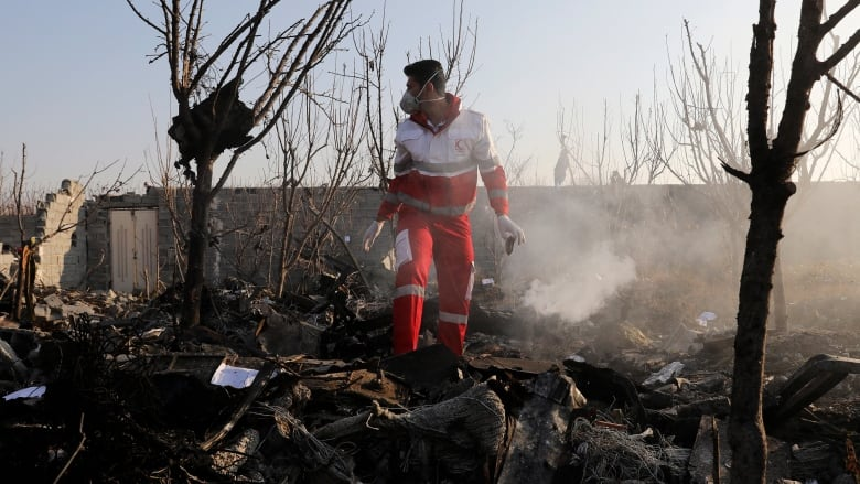 Families Of Iran Plane Crash Victims Facing Uphill Battle To Recover Remains Cbc News